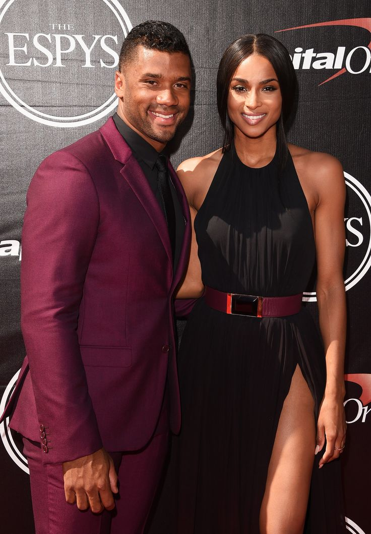 ~Ciara and Russell Wilson @ the 2015 ESPYs~