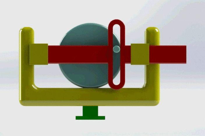 scotch-yoke mechanism