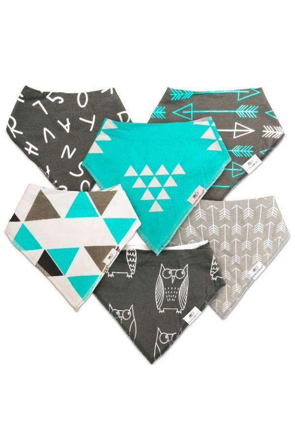 Baby Accessories Modern Munchkin Plus Unisex Bibs Pack of 6 25% off Sale Expires Midnight PDT mun...