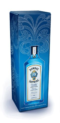 Bombay Sapphire unveils illuminating packaging with Webb deVlam (click through to see the image light up)