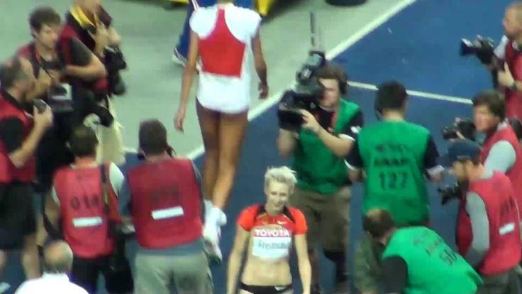 ブラシッチvsフリードリヒ 世界陸上ベルリン2009 女子走高跳