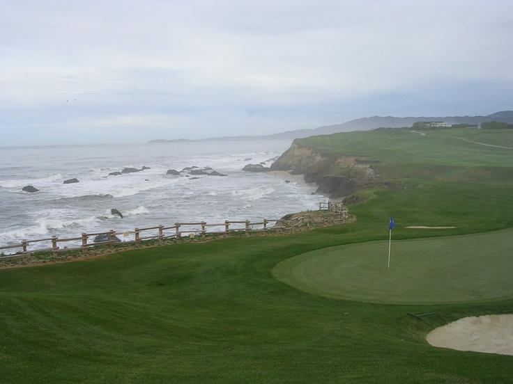 Ritz Carlton Half Moon Bay, Ca, golf course