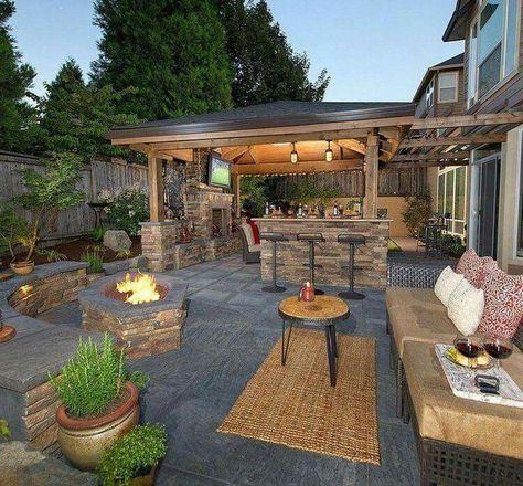36 amazing outdoor kitchen decor ideas