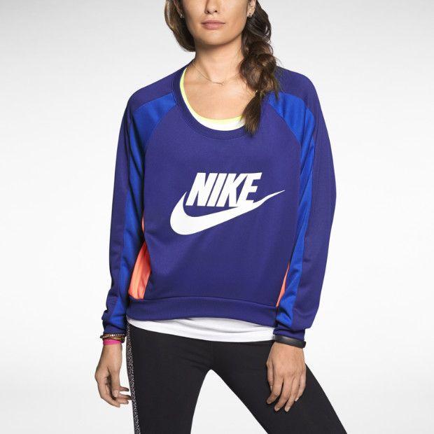Nike Fearless Crew Damen Sweatshirt