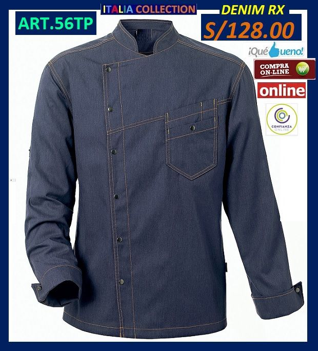 Modelos de chaquetas de chef