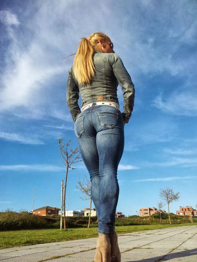 Ass In Tight Jeans 110