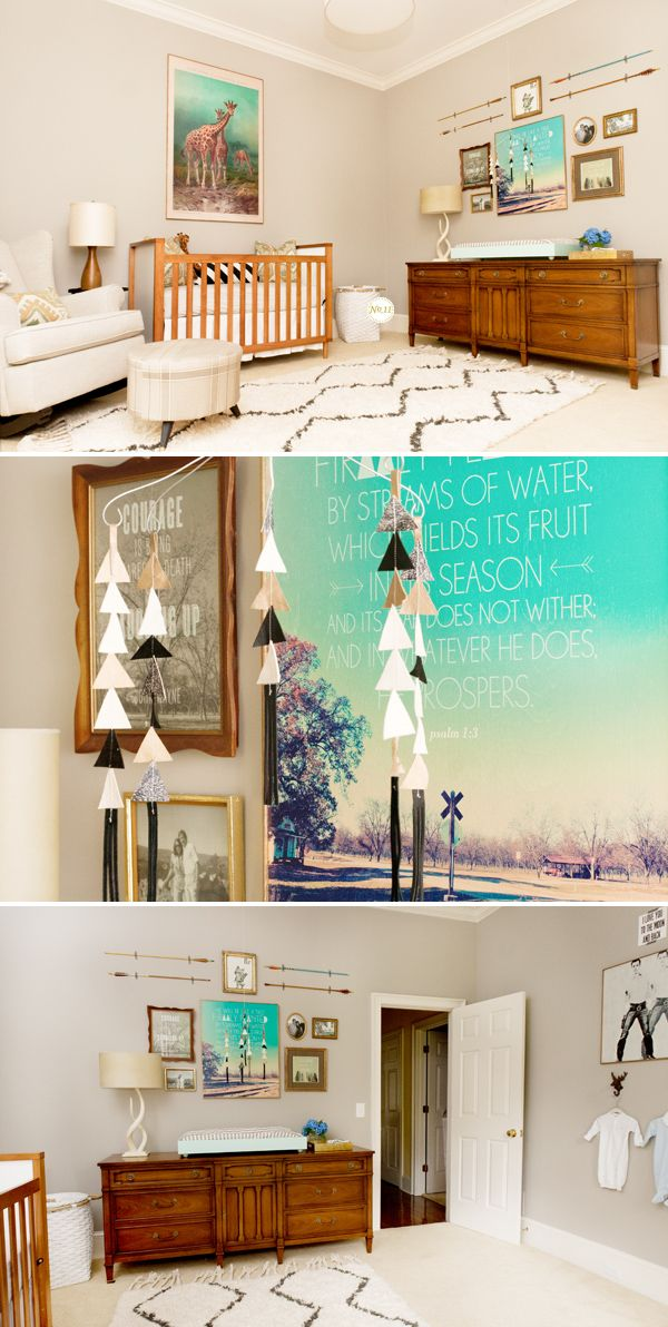 Minus the baby crib and add a queen bed then that's what I want my room to look like. Minus the baby clothes on the wall!
