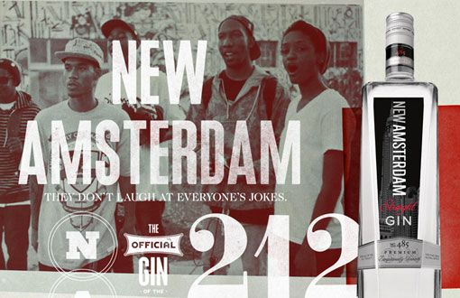Ron Thompson: New Amsterdam Gin Look andFeel