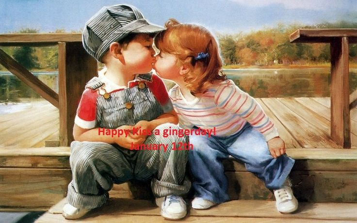 Spread the love for all redheads as January 12th is kiss a gingerday. Already know who you want to kiss?