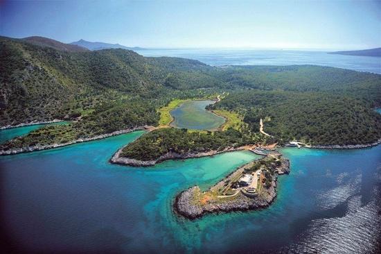 GREECE CHANNEL   Agistri island, Greece