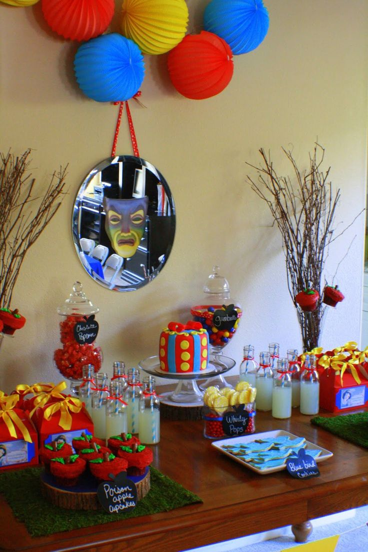Snow White Party - some cool thoughts