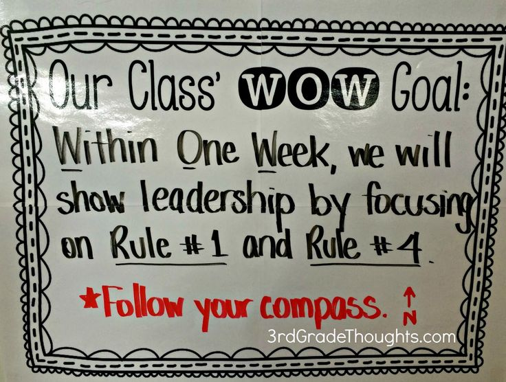 Creating Class WOW Goals- Within One Week- whole class goal and individual goal. <3 this for GRIT/ Growth mindset. Also builds a class community of celebrating accomplishment and encouragement