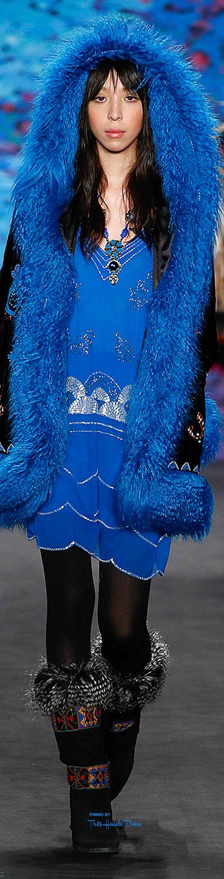 #NYFW Anna Sui Fall 2015 RTW ♔THD♔