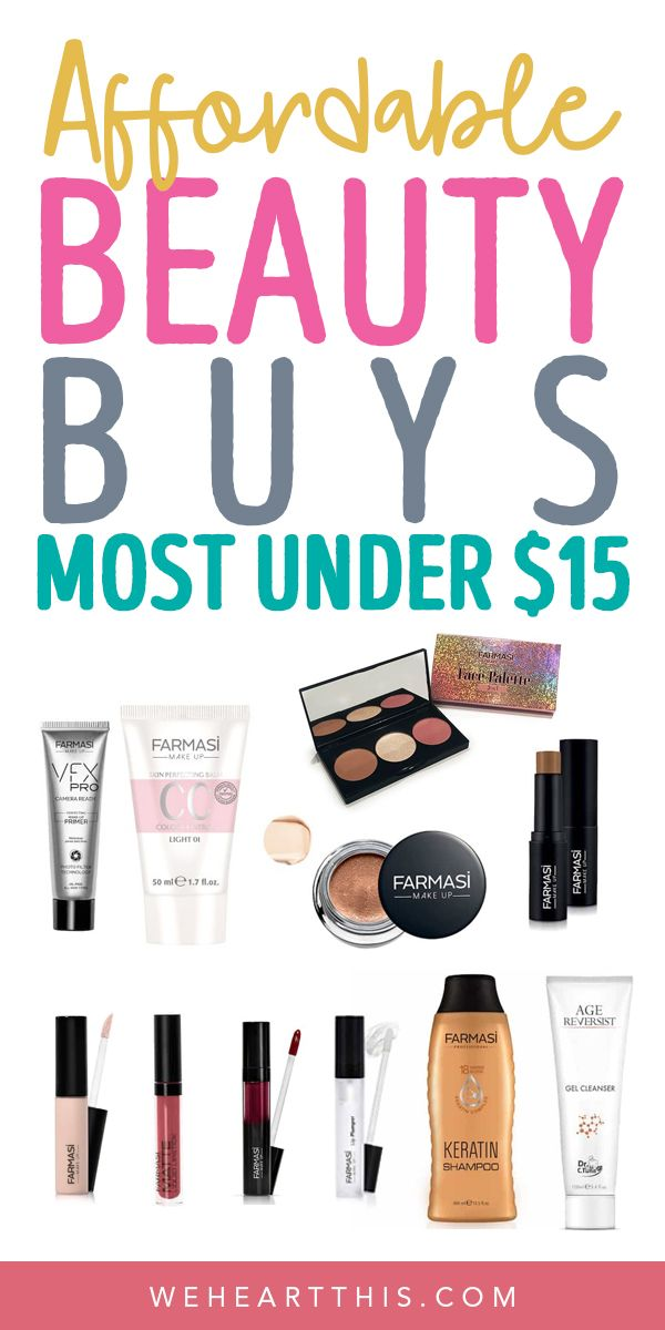 Affordable Budget Beauty Buys Under 15 Budget Beauty Beauty Buys Makeup Prices