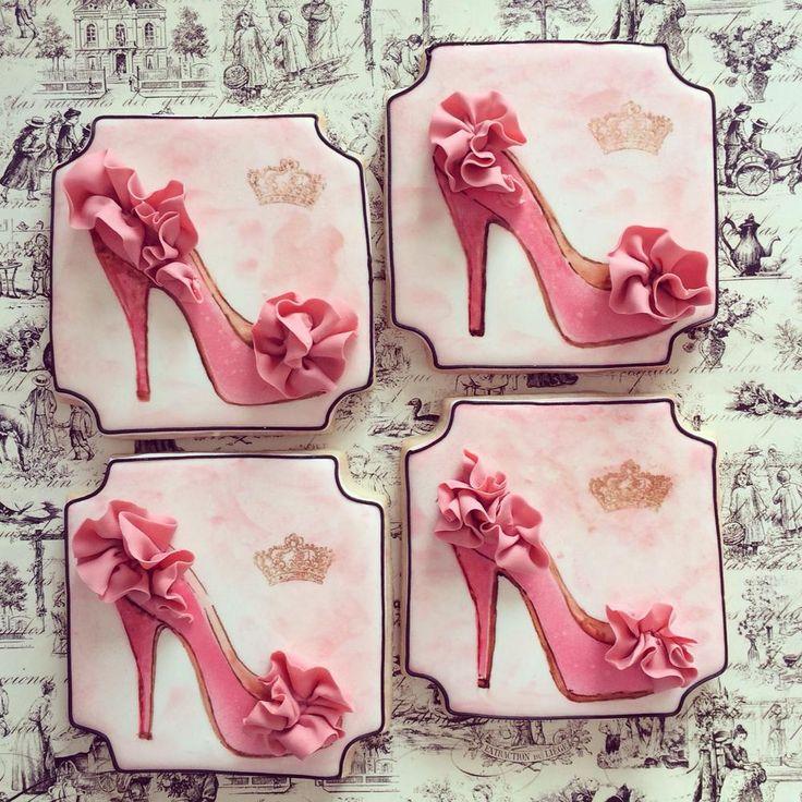 Christian Louboutin High heel sugar cookies...   https://www.facebook.com/Sugarshimmer?ref=hl