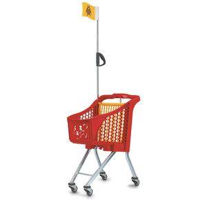 Oblíbený nákupní vozík pro děti se jmenuje Wanzl  ''Tangolino''.
