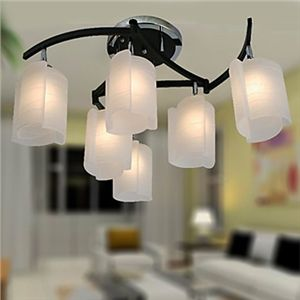 Ceiling Lights - Chandeliers - Modern Chandeliers - Modern Chandelier with 6 Lights in Warm Light