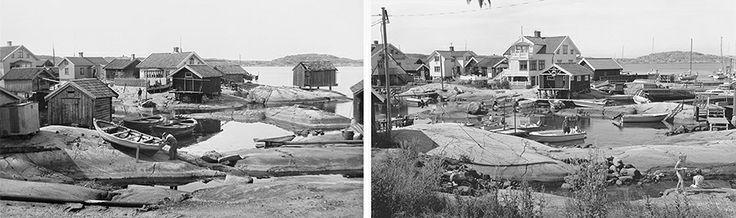 Käringön, 1901 och 1999