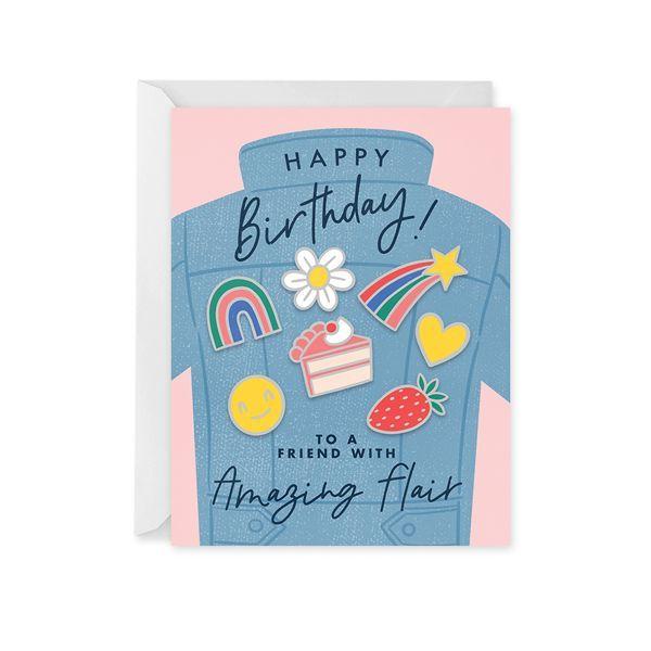 Birthday Flair Card Birthday Cards Cute Birthday Cards Happy Birthday Cards