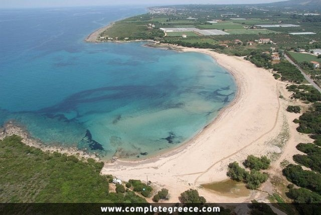Lagouvardos Beach - Filiatra - #Greece
