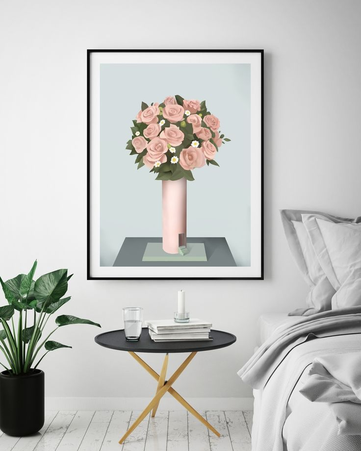 Bouquet via Peytil Print Shop. Click on the image to see more!
