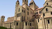 Ricostruzione 3D di Cluny - 3D Cluny abbey http://www.grezprod.com/reconstitutions.html
