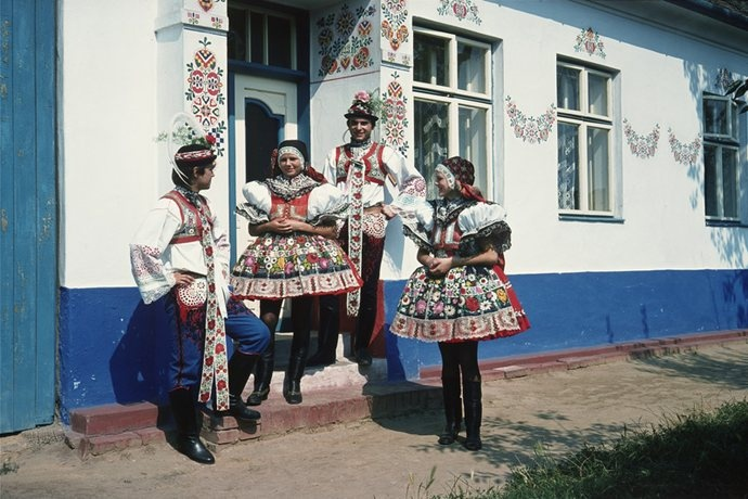 Folk traditions of Slovácko.