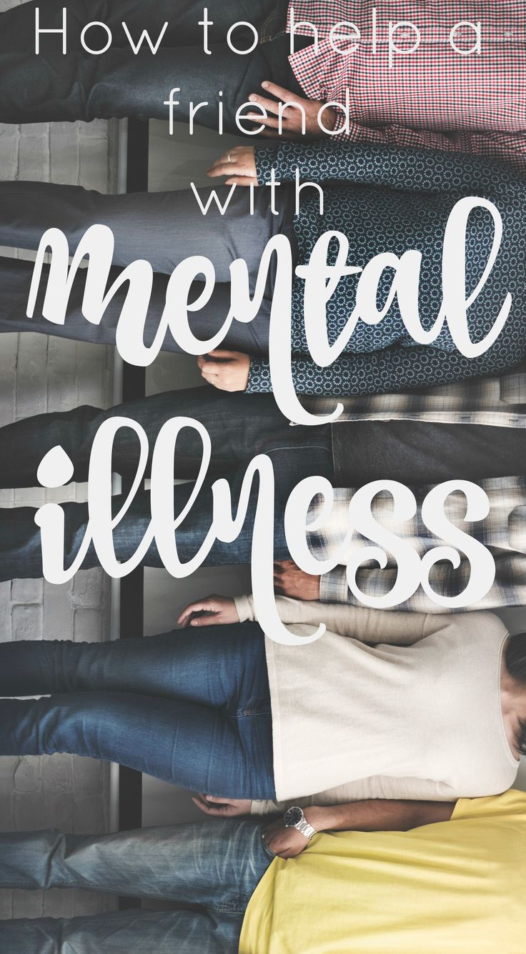 You probably know someone who suffers from a mental illness. It can be hard to know what to do when they have a bad day or need support, so here is a quick guide to help you out!