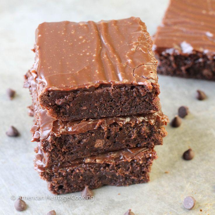 American Heritage Cooking | Milk Chocolate Brownie Explosion | http://americanheritagecooking.com