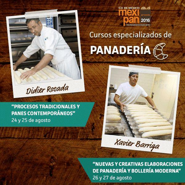 La panadería, presente en #Mexipan2016 con dos de sus mejores exponentes a nivel mundial! ¡Tú decides!  l#bread #pan #mexico #mexicocity #cdmx #mexipan #cursos #wtc #expo #expo2016