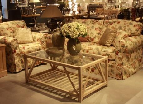 Zestaw wypoczynkowy: kanapa i fotel / sofa and armchair Chicago firmy MTI Furrninova