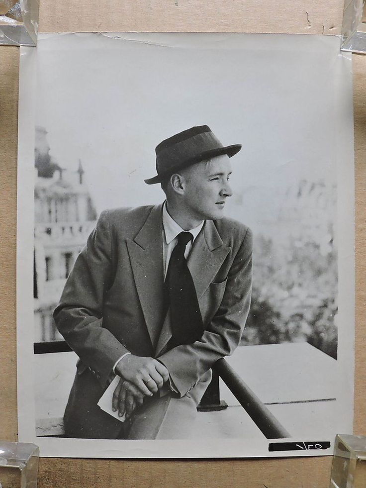 Oskar Werner original candid portrait photo 1950's Fox | Entertainment Memorabilia, Movie Memorabilia, Photographs | eBay!