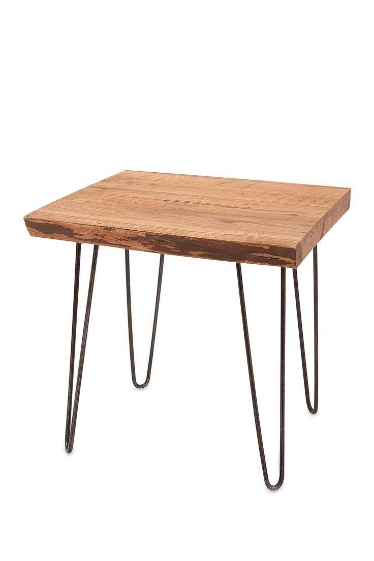 Crispin Acacia Wood Side Table by Imax on @HauteLook