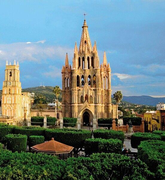 Catedral de san miguel allende m xico photographic art for Jardin san miguel de allende