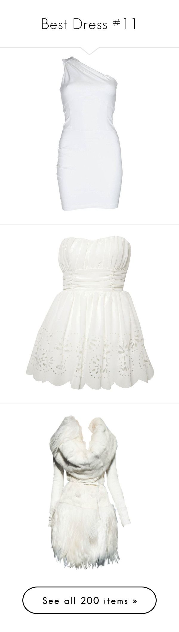 """""""Best Dress #11"""" by jewelsinthecrown ❤ liked on Polyvore featuring dresses, women, white color dress, white dress, stretch dress, white corset dress, white zipper dress, vestidos, short dresses and vestiti"""