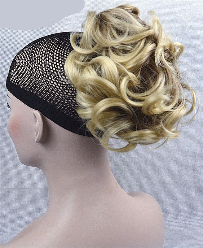 Ponytail Hair Piece Extension Synthetic Hair Wavy Claw Clip Hairpiece