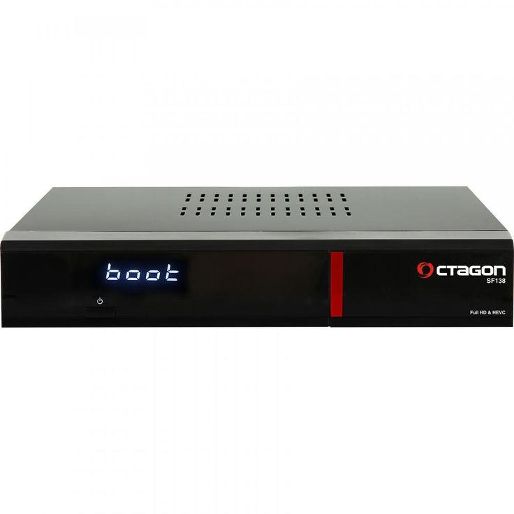 Octagon SF138 HD E2 Linux Red HDTV LAN CI DVB-T2 HD Receiver |satking.de