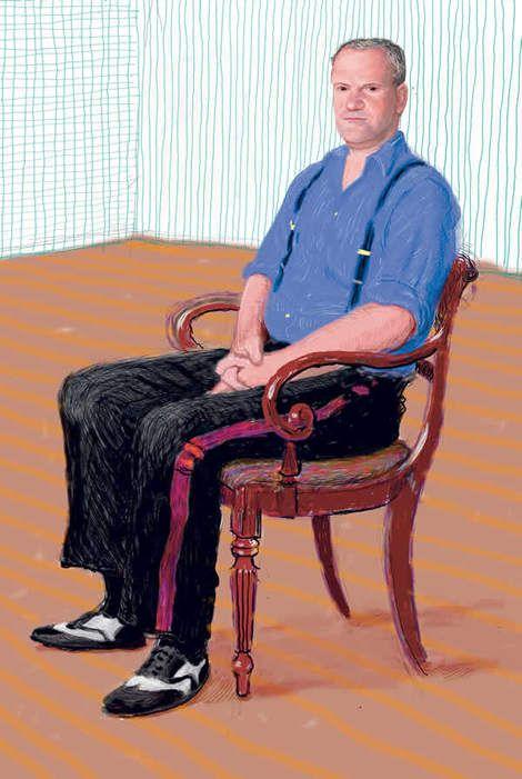David Hockney, John Fitzherbert on ArtStack #david-hockney #art