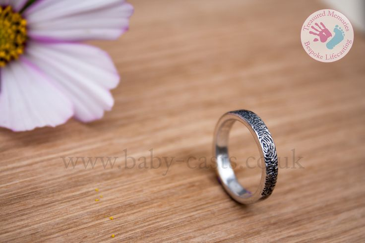 Sterling Silver fingerprint ring. #treasuredmemories #crewe #cheshire #handmade #madewithlove #sterlingsilver #memorial #inlovingmemory #foreverwithme #keepsake #special #personalised #heart #charm #necklace #unique #silver #jewellery