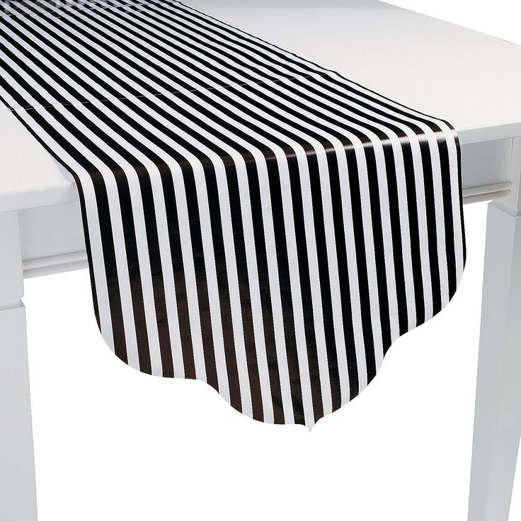 17 best images about black white party on get black white tablecloth striped aliexpress