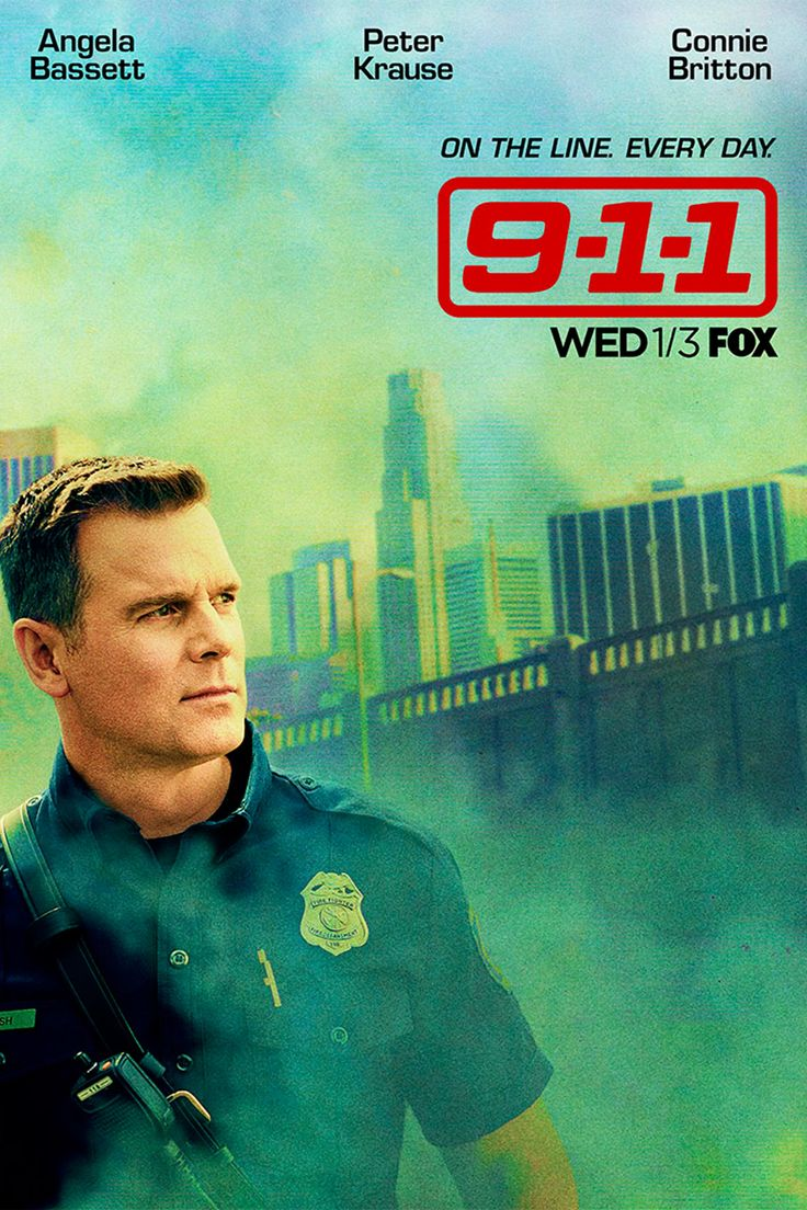 See the terrifying new poster for '9-1-1,' the drama from the 'American Horror Story' group