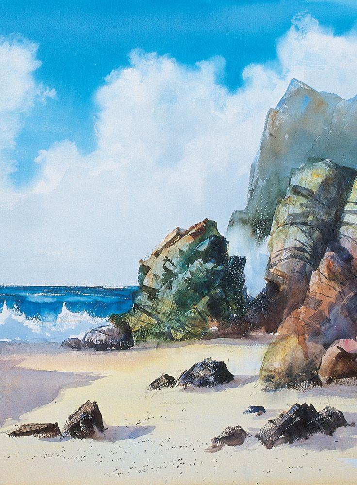 L Aquarelle Simplement En 2020 Aquarelle Peinture Paysage Et