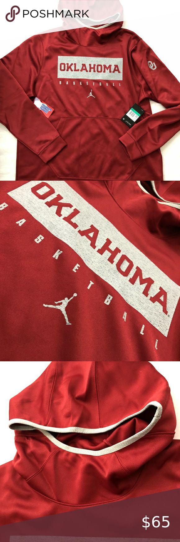 NWT Oklahoma Sooners Jordan Hoodie XL (Kyler) in 2020