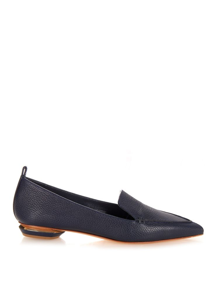Beya grained-leather loafers | Nicholas Kirkwood | MATCHESFASHION.COM US
