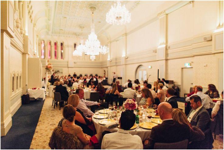 Tea Room QVB Wedding | Queen Victoria Building Sydney | PHOTO CREDIT: Thomas Stewart Photography