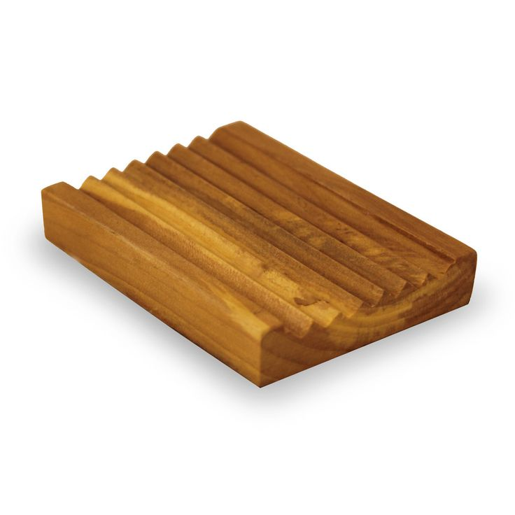 Wooden Soap Dish  Allows the soap bar to dry after use for optimum usage of your bar.