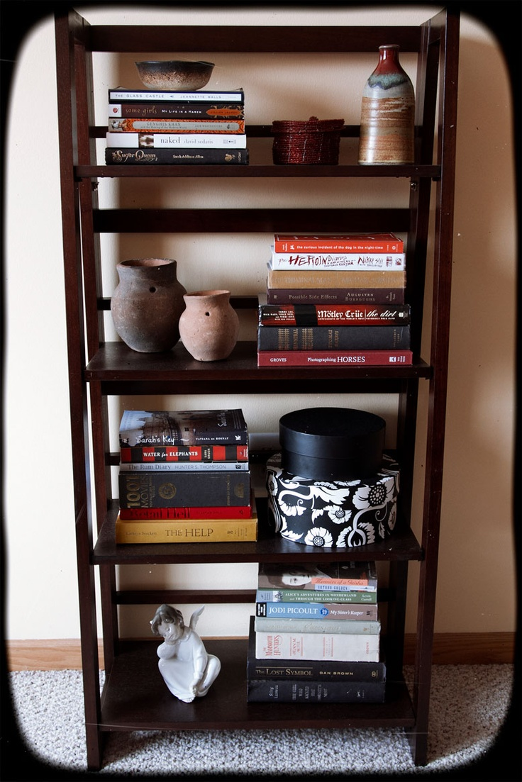 DIY Lady Hacks: Bookshelf Organization Inspired by Pinterest