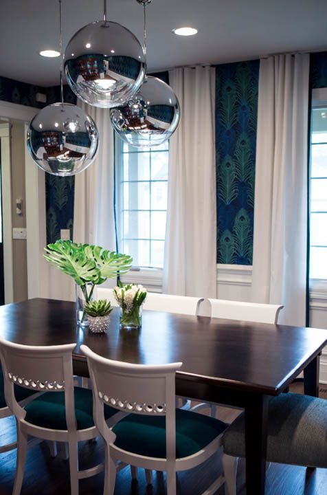 25 best ideas about peacock dining room on pinterest for Peacock dining room ideas
