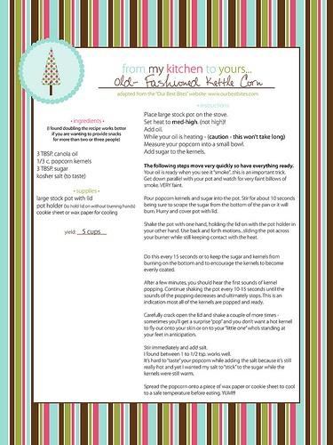 Kettle corn, Kettle and Christmas on Pinterest