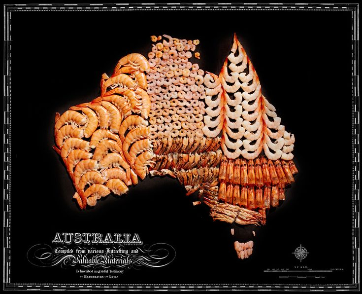"""Who doesn't know the saying ""throw some shrimp on the barbie"" and not think of Australia?"" 
